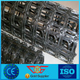 30/30kn Geogrid biaxial plástico