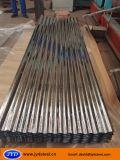 Hoja galvanizada acanalada brillante de la azotea del acero/del metal/del hierro
