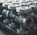 ステンレス鋼の精密投資鋳造弁の部品(無くなったワックスの鋳造)