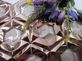 Hexagon-Form-Kristallmischungs-Spiegelflächen-Edelstahl-Mosaik (CFM1026)