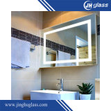 Specchio dell'argento dello specchio illuminato figura di rettangolo