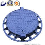 코팅 서비스를 가진 Lockable 연성이 있는 철 맨홀 뚜껑 프레임