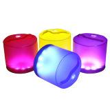 [بورتبل] شمعيّة فانوس قابل للنفخ فانوس ضوء [رغب] إنارة لاسلكيّة شمعيّة يخيّم ضوء مع جهاز تحكّم عن بعد
