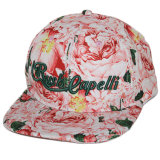 Шлем Snapback печатание изготовленный на заказ хлопка дешевый флористический с вышивкой