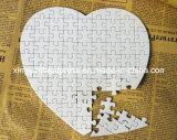 Puzzle de Livre Blanc de perle de forme de coeur