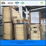 冷蔵室フリーザーによって使用されるISO SGS 75mm PUサンドイッチパネル