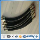 Tubo flessibile di gomma idraulico ad alta pressione di En853 2sn