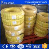 Cuatro capas reforzadas máquina agrícola de aspiración de aceite manguera hidráulica
