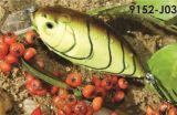 65mm flottant d'une première le prix bon marché usine --- La qualité a fait Crankbait de pêche en plastique dur fait sur commande - Wobbler - attrait de pêche de Popper de cyprins