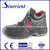 Zapatos de cuero del hombre del trabajo pesado RS6110