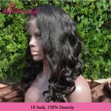 Cabelo humano de Remy da peruca cheia por atacado do laço da onda do corpo