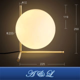 좋은 가격을%s 가진 현대 디자인 유리제 공 작풍 테이블 램프