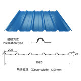 Roofingのための青いColor Coated PPGI PPGL Corrugated Steel Sheet