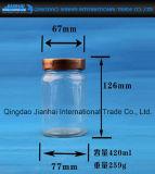 De Jampot van de Kruik van de saus en de Fles van het Glas voor Opslag