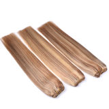 "1PC Remy Hair Weaves Straight 100grams Indian Human Hair Weaving Duplo Wefted Black Brown Blonde Cabelo de trama 18 ""20"" 22 ""24"""
