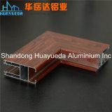 Het houten Korrel Gebeëindigde Profiel van het Aluminium van de Uitdrijving voor het Raamkozijn van het Aluminium