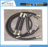 2sn 1 pouce - boyau hydraulique à haute pression pour pneumatique