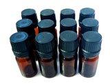 botellas euro 5ml con el casquillo negro para los petróleos esenciales