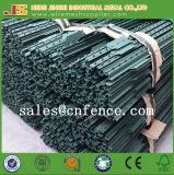 Сверхмощный американский тип столб загородки обитый столбом t 1.33lb/Feet зеленый покрашенный оптовый