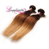 Самые новые выдвиженческие оптовые белокурые бразильские Weft волосы
