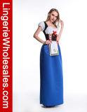 Costume девушки девушки пива бюстгальтеров сексуальных женщин Oktoberfest Ruffled