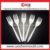 Fourche d'injection/moulage remplaçables en plastique de cuillère/couteau