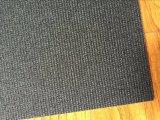 Uso nero dell'aeroporto con il nastro trasportatore del PVC della superficie del tessuto
