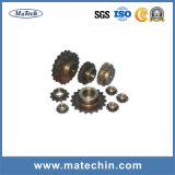 Forjamento do aço inoxidável para a corrente da transmissão do rolo do transporte do Pin