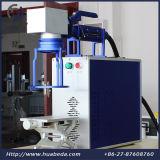10W 20W 30W de Laser die van de Vezel Machine/Metaal, de Teller van de Vezel van het Roestvrij staal merken