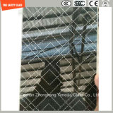 l'impression de Silkscreen de 3-19mm/gravure à l'eau forte acide/se sont givrés/plat de configuration/ont déplié Tempered/verre trempé pour la porte/guichet/douche/salle de bains avec le certificat de SGCC/Ce&CCC&ISO