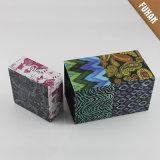 Коробка упаковки бумаги полного цвета поставкы фабрики Cuboid