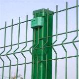 Покрынный PVC треугольник авиапорта сваренную загородку ячеистой сети