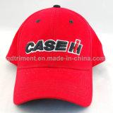 Gorra de béisbol de encargo del golf del deporte del bordado de la tela cruzada del algodón (TRNB046-1)