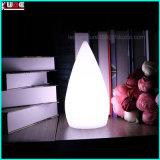 La Navidad adorna la decoración de la lámpara de vector del LED con la luz