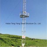 Fabriqué en Chine Guyed Mast Tubular Steel Lattice Telecom Tower
