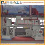 Máquina de fabricación de ladrillo grande automática llena de la arcilla roja de la salida