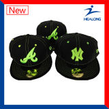 Healong 주문 3D 자수 남자 스포츠 야구 모자 및 모자