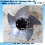 Turbine centrifuge d'acier inoxydable de pompe de Durco