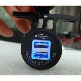 Dubbele Lader USB voor Contactdoos van de Aansteker van de Motorfiets van de Auto de Auto (ds2013-2)