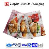 Мешок пластичный упаковывать еды цыпленка уплотнения таможни 3 бортовой с Ziplock