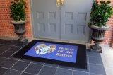 Kundenspezifischer Haustür-Fußboden InnenOudoor Geschenk, das Förderung-Zoll gedruckte Drucken-Werbegeschenk-fördernde willkommene Eingangs-Firmenzeichen-Teppiche bekanntmacht