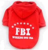 Vestiti dell'animale domestico, Fbi Hoodie, prodotto dell'animale domestico