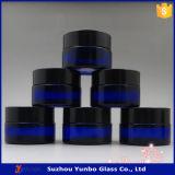 20 Ml голубого косметического стекла Jars Cream стеклянные опарникы
