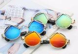 Óculos de sol redondos populares de Len do espelho da antiguidade do frame do estilo de Europea