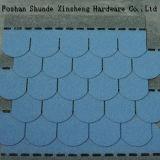 建築材料の魚スケールのアスファルト屋根の鉄片
