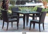 خارجيّة سوداء [ب] [رتّن] [ويكر] أريكة محدّد أثاث لازم عمليّة بيع