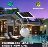 Design patenteado LED Solar Moon Light com controle inteligente