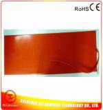 riscaldatore della gomma di silicone di 1500*300*1.5mm 12V 100W