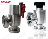 ISO служит фланцем угловой вентиль вакуума - ручно эксплуатируемое Vavles