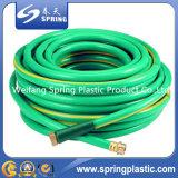 Tubo flessibile di giardino a fibra rinforzata del PVC con i montaggi d'ottone